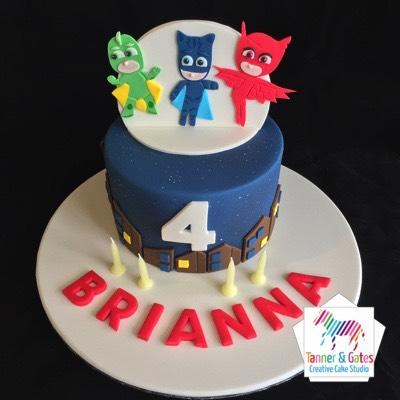 Where To Buy A Pjmask Birthday Cake